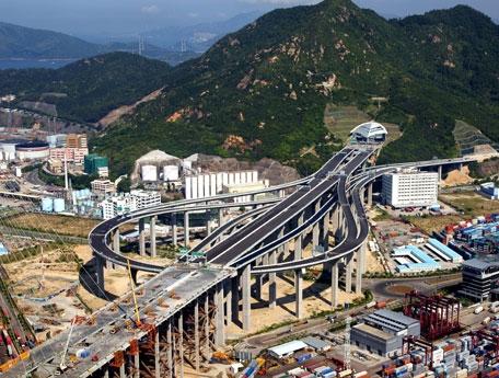 Bouygues travaux publics organisations dragages hong kong - Pont des arts hong kong ...
