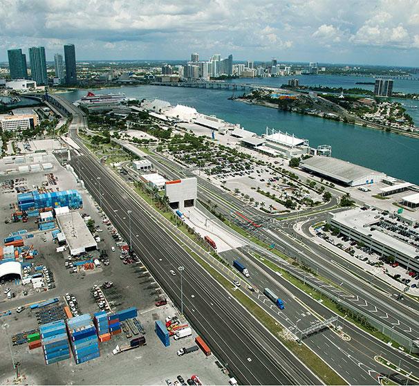 Miami Port: Bouygues Travaux Publics