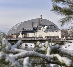 Nouvelle arche de confinement  de Tchernobyl