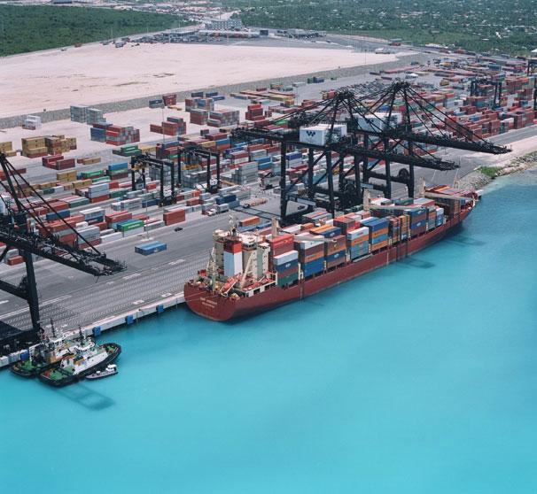 Bouygues Travaux Publics Project Caucedo Container