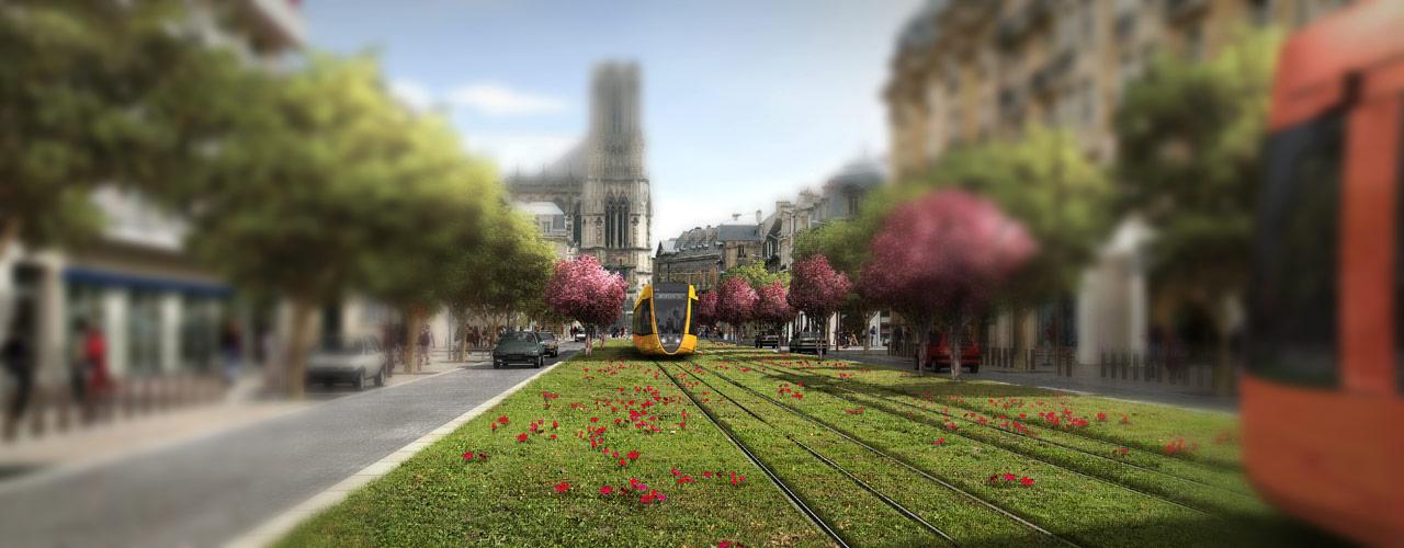 Tramway de Reims