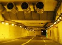 A14/A86 motorway underground complex