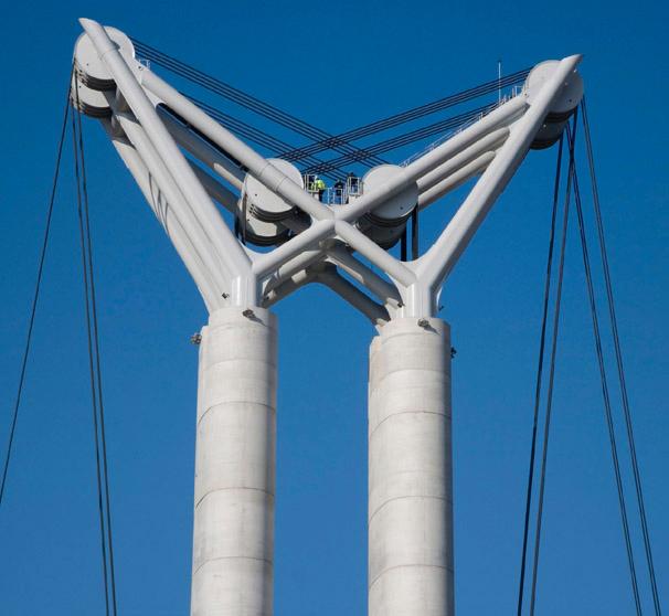 Bouygues Travaux Publics - Projet - Pont de Flaubert à Rouen