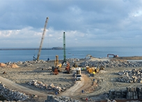 Extension of the Port of Cherbourg