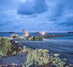 Extension du Port de Cherbourg