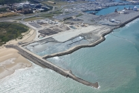 Extending the Port of Calais into the sea