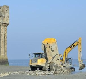 Rétablissement du caractère maritime du Mont-Saint-Michel
