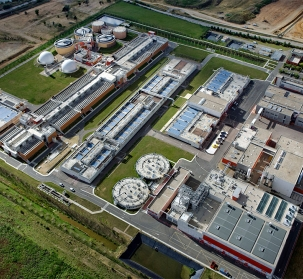 Grésillons 2 sewage treatment plant