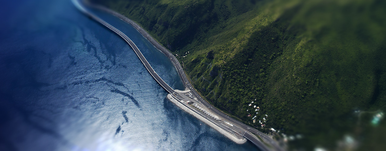 New Coastal road viaduct