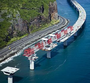 New Coastal road viaduct